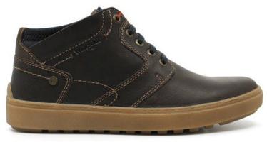 Wrangler Historic Desert Leather Autumn Boots Dark Brown 45