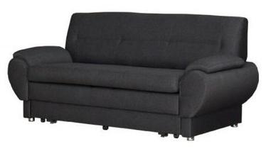 Sofa-lova Bodzio Livonia 3 Fabric Dark Gray, 184 x 76 x 89 cm