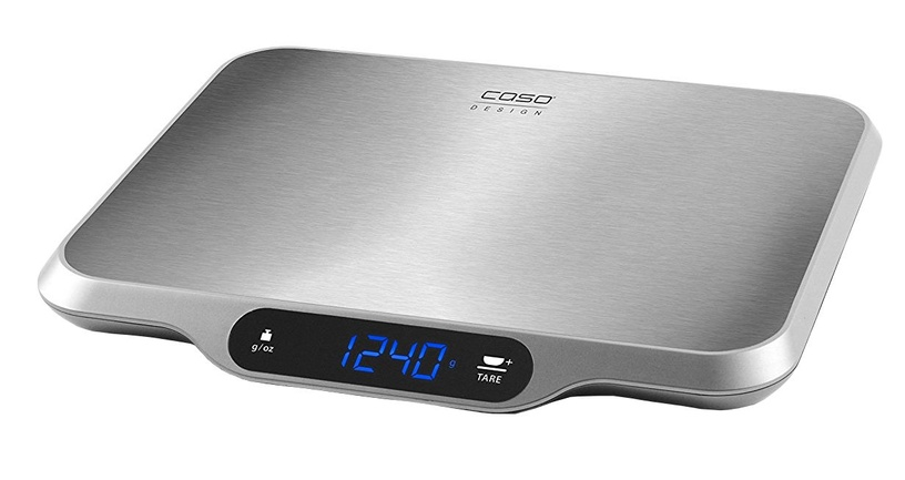 Elektrooniline köögikaal Caso L15, roostevaba teras