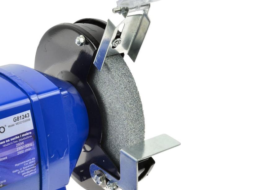 Geko G81243 Bench Grinder 150/200mm 250W