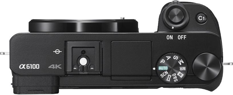 Sony Alpha A6100 Body Black