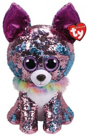 Плюшевая игрушка TY Beanie Boos Flippables Sequin Yappy Chihuahua, 42 см
