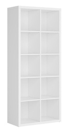 Black Red White Nepo Shelf White