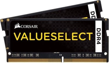 Corsair ValueSelect 8GB 2133MHz CL15 SODIMM DDR4 KIT OF 2 CMSO8GX4M2A2133C15