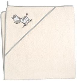 Ceba Baby Bath Towel Zebra Beige