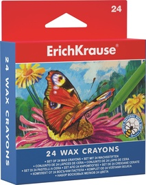 ErichKrause Wax Cryons Set Of 24pcs 34931