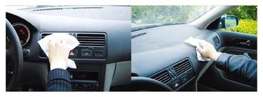 Drėgnos servetėlės automobilių salonams valyti Autoserio J020031, 40 vnt