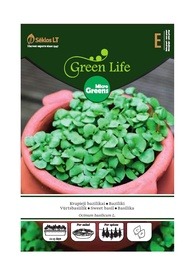 Baziliku sēklas Green Life Micro Greens