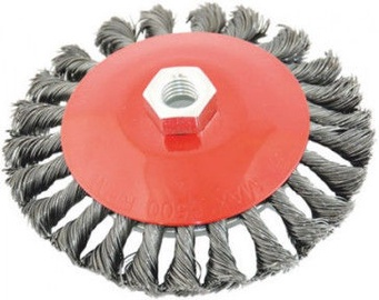 Ega Twisted Steel Wire Brush 120mm