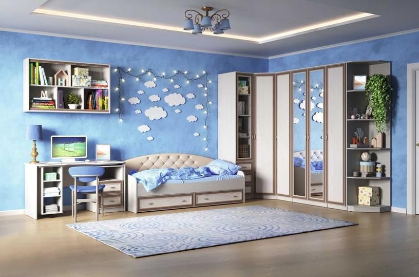 Skapis MN Mindal 06.55, smilškrāsas, 80x55.4x227.8 cm
