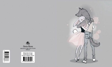 Jānis Roze Notebook JR9 60 Pages Wolf And Bunny