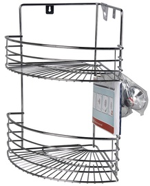Rider Corner Bathroom Shelf 320x235x370mm Chrome