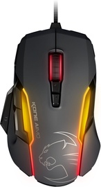 Roccat Kone AIMO RGBA Smart Customization Gaming Mouse Gray