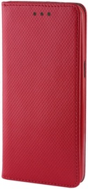 Forever Smart Magnetic Fix Book Case For Huawei Y6 2018 Red