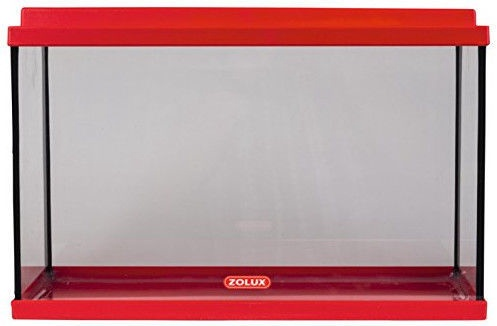Akvariumas Zolux Nanolife Kidz 35, raudonas, 12.5 l