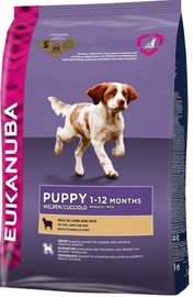 Eukanuba Puppy All Breeds With Lamb 12kg