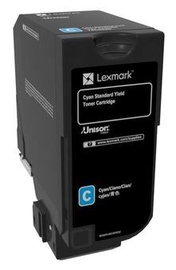 Lexmark CS720 Standard Yield Toner Cartridge Cyan