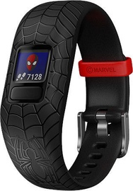 Garmin Vivofit jr. 2 Adjustable Marvel Spider-Man Black
