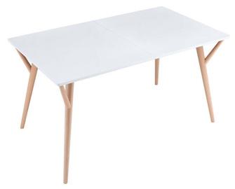 Black Red White Twiggy Table White