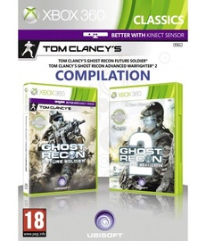 Tom Clancy's Ghost Recon Double Pack: Future Soldier, Advanced Warfighter 2 Xbox 360