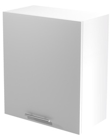 Верхний кухонный шкаф Halmar Vento G-60/72 White/Honey Oak, 600x300x720 мм