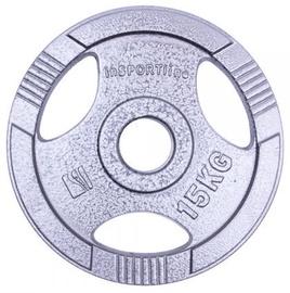 inSPORTline Hamerton Olympic Steel Plate 15kg