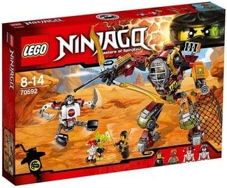 Konstruktorius LEGO Ninjago Salvage M.E.C. 70592