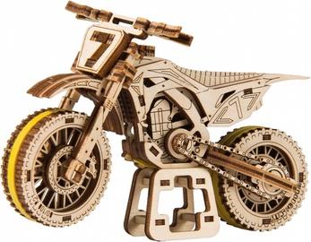 Wooden City 3D Puzzle MotoCross 88pcs