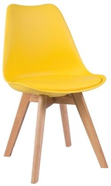 Signal Meble Chair Kris Oak Yellow