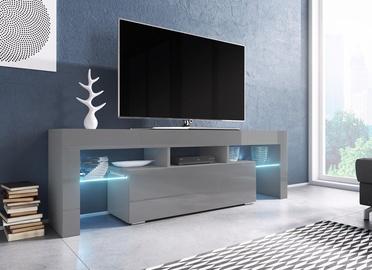 TV galds Cama Meble Toro 138, pelēka, 1380x400x410 mm