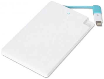 Зарядное устройство - аккумулятор Omega OMPB20CCWML, 2000 мАч, белый