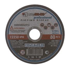 Pjovimo diskas, 125 x 2 x 22.23 mm