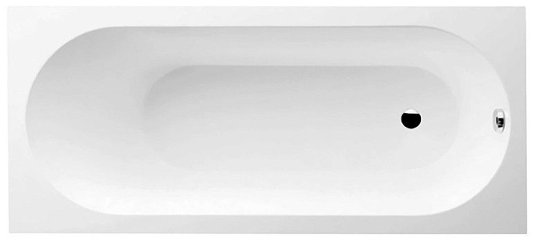 Villeroy & Boch Oberon Solo Bath with Legs White 170x75