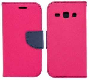 Mocco Fancy Book Case For Huawei P20 Pink/Blue