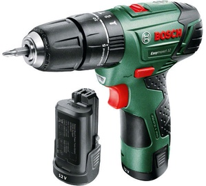 Bosch EasyImpact 12 Cordless Drill with 2 Batteries