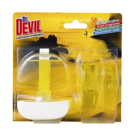 Unitazų želė Dr. Devil Lemon Fresh, 3 x 55 ml
