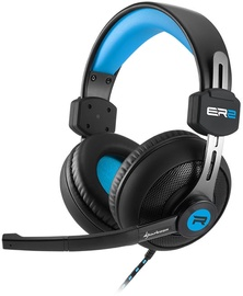 Ausinės Sharkoon Rush ER2 Gaming Headset Black/Blue