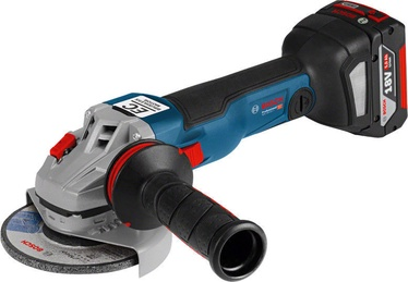 Bosch GWS 18V-125 C Cordless Angle Grinder + Accessories