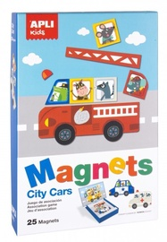 Apli Kids Magnets City Cars 25pcs