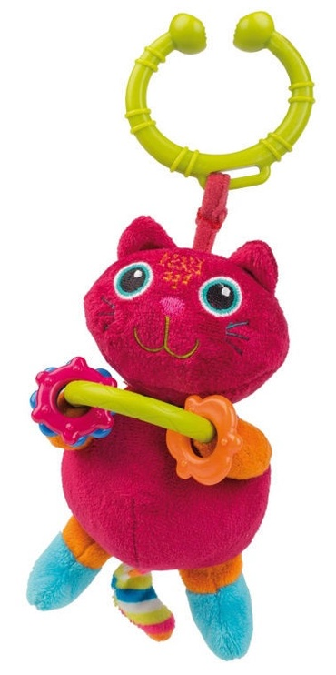 Oops Soft Pendant Rattle Toy Cat 11011.21