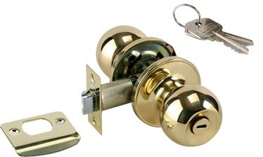 Nupplukk võti+nupp pronks satiin