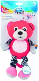 Canpol Babies Soft Musical Toy Bear Coral 68/053