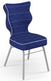 Детский стул Entelo Solo Size 4 VS06, синий/серый, 340 мм x 775 мм