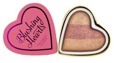 Makeup Revolution London Blushing Hearts Baked Blusher 10g Peachy Keen Heart
