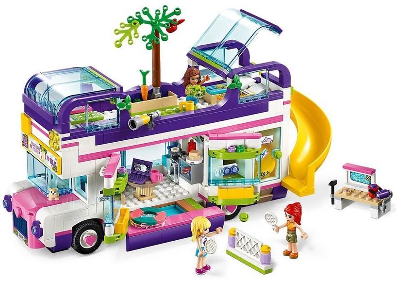 Konstruktors LEGO® Friends 41395 Draudzības autobuss