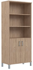 Skyland Born Office Cabinet B 430.3 RZ Devon Oak