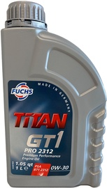 Машинное масло Fuchs Titan GT1 Pro 2312 0W - 30, синтетический, для легкового автомобиля, 1 л
