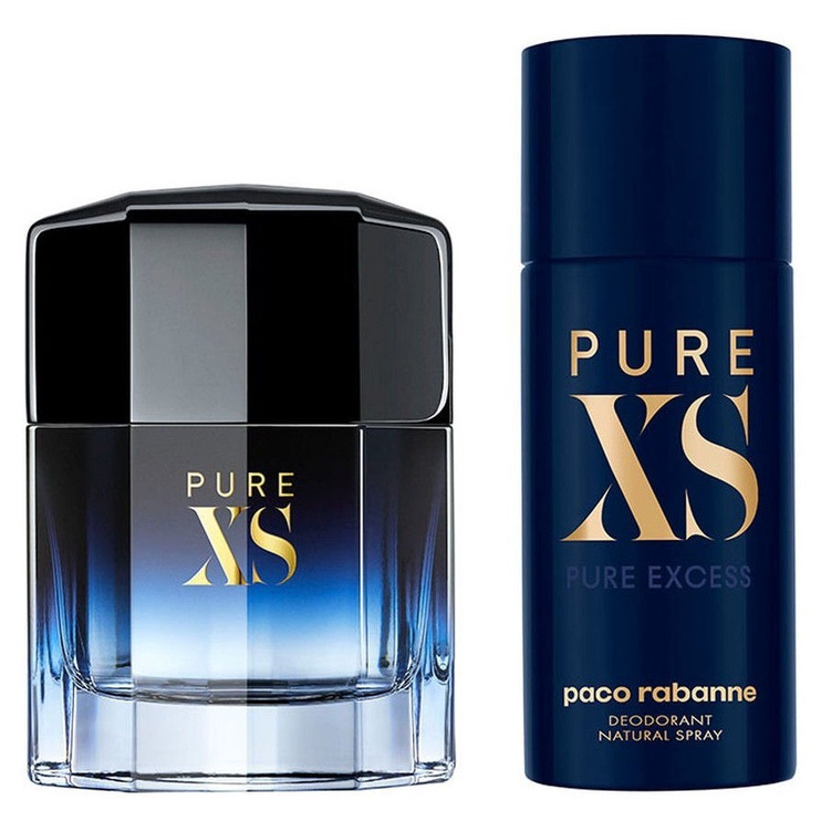 Paco Rabanne Pure XS 100ml EDT + 150ml Deodorant Spray