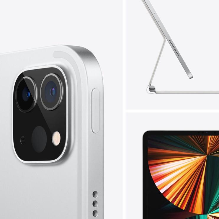 Планшет Apple iPad Pro 12.9 Wi-Fi 5G (2021), серебристый, 12.9″, 8GB/256GB