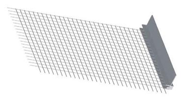 Deformuojamas baigiamasis profilis su tinkleliu Briko, 2.4 m